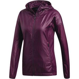 adidas TERREX Agravic Alpha Jacket Damen red night red night
