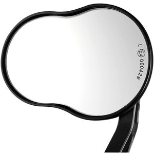 Humpert Ergotec M-99L Rückspiegel für E-Bike schwarz schwarz