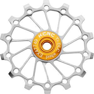 KCNC Jockey Wheel Titan 14 Zähne narrow/wide full ceramic bearing silver silver