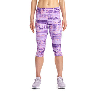 saucony Bullet 2.0 Capri Shorts Damen violet indigo violet indigo