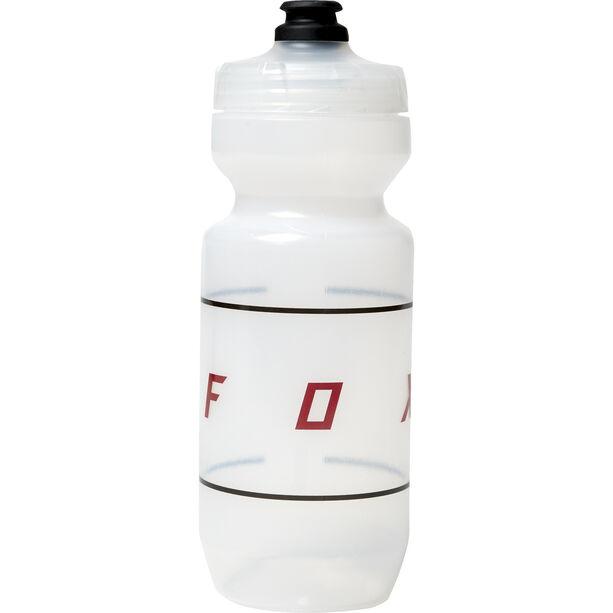 Fox Moth Purist Water Bottle Misc 650ml clear