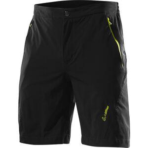 Löffler Comfort CSL Bike Shorts Herren schwarz/zitrone schwarz/zitrone
