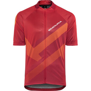 Endura Hummvee Ray Short Sleeve Jersey Men red bei fahrrad.de Online