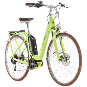 Cube Elly Ride Hybrid 500 Easy Entry Green'n'Black bei fahrrad.de Online