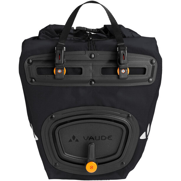 VAUDE Aqua Front Light Pannier 2 Pieces black