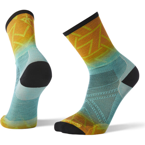 Smartwool PhD Run Ultra Light Print Crew Socks