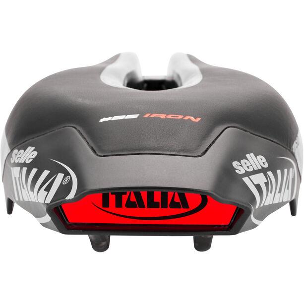 Selle Italia Iron EVO Kit Carbon Superflow SD Sattel black