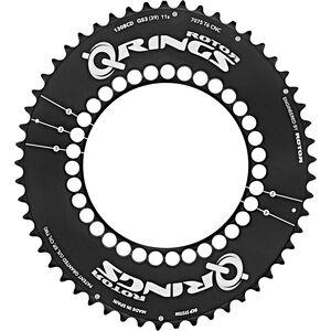 Rotor Q-Ring Road Aero Kettenblatt 130mm 5-Arm außen schwarz