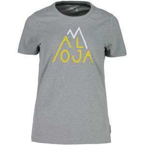 Maloja BaselgiaM. T-Shirt Women grey melange bei fahrrad.de Online
