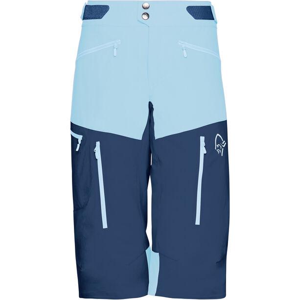 Norrøna Fjørå Flex1 Shorts Damen trick blue/indigo night