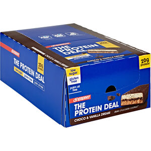 Enervit Protein Deal Bar Box 25x55g Choco Vanilla