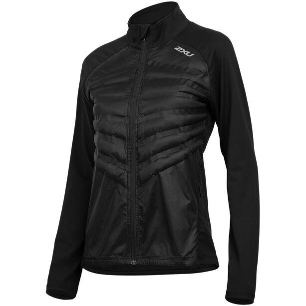 2XU Heat Half Puffer Jacket Damen black/black