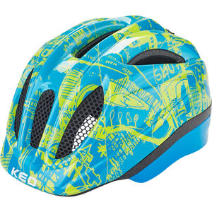 KED Meggy Trend Helmet Kinder blue yellow blue yellow
