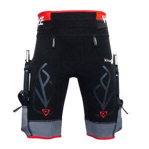 KiWAMi Equilibrium Trail Shorts black/red black/red
