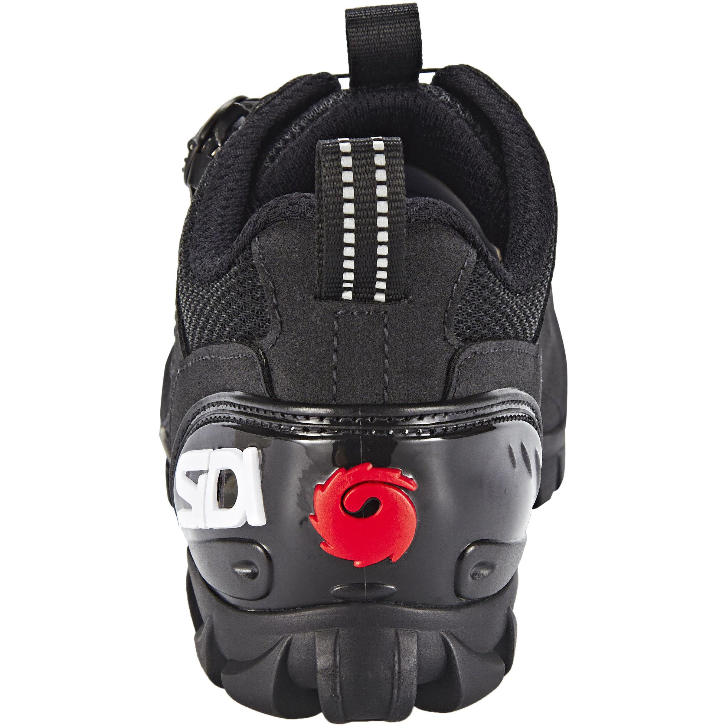 black 15 Sidi 42 Sd TrekkingschuheBlack thQsCrd