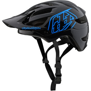 Troy Lee Designs A1 Helmet Kinder drone/black/blue drone/black/blue