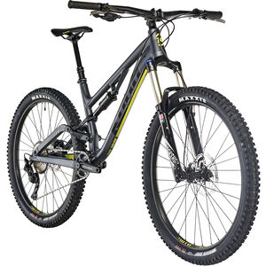 Kona Process 134 SE matt charcoal/gloss black/yellow matt charcoal/gloss black/yellow