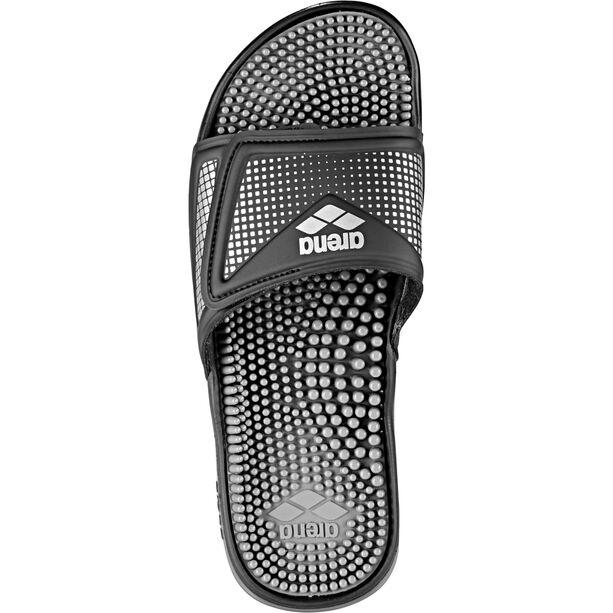 arena Marco VCR Hook Sandals black-grey-silver