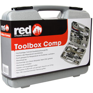Red Cycling Products Toolbox Comp Werkzeugkoffer bei fahrrad.de Online
