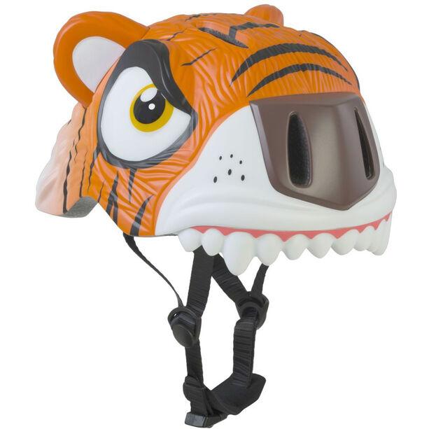 Crazy Safety Tiger Helm Kinder orange