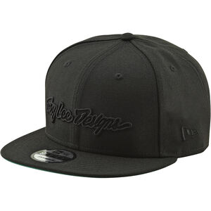 Troy Lee Designs Classic Signature Snapback Hat black/black black/black