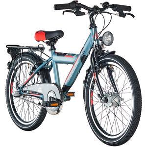 s'cool XYlite 20 3-S steel Darkgrey/Red Matt bei fahrrad.de Online