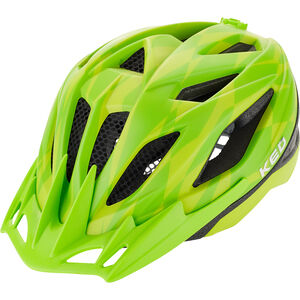KED Street Jr. Pro Helmet Kinder yellow green yellow green