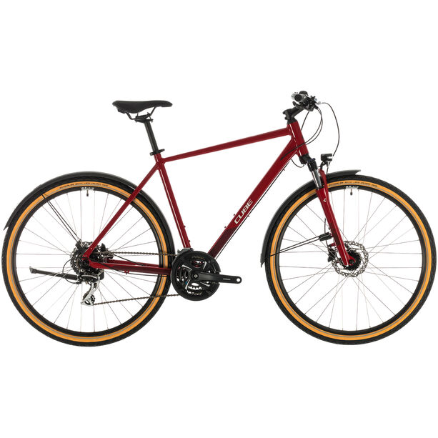 Cube Nature Allroad red/grey