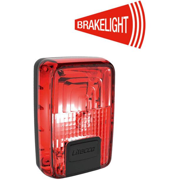 Litecco G-Ray Rücklicht mit Bremslichtfunktion schwarz/rot