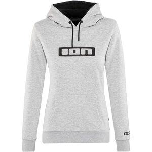 ION Logo Hoodie Damen grey melange grey melange