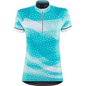 Löffler Prisma Bike Jersey Half-Zip Damen topaz blue topaz blue