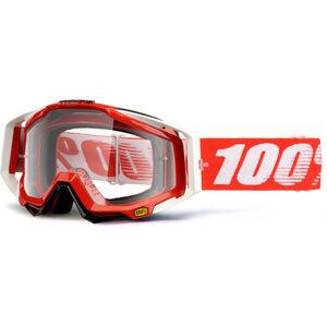 100% Racecraft Anti Fog Clear Goggles fire red bei fahrrad.de Online