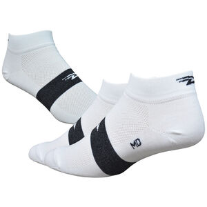 "DeFeet Aireator 1"" Socken team defeet white/black stripe team defeet white/black stripe"
