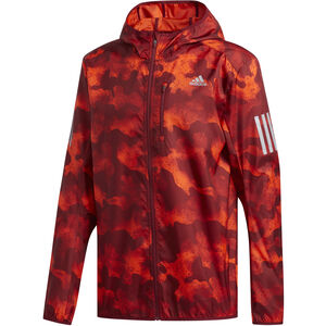 adidas Own The Run Light Jacke Herren active orange/active marine/collegiate burgundy active orange/active marine/collegiate burgundy