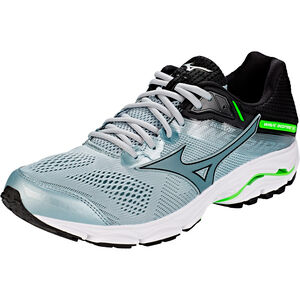 Mizuno Wave Inspire 15 Shoes Men Quarry/Stormy Weather/Green Gecko bei fahrrad.de Online