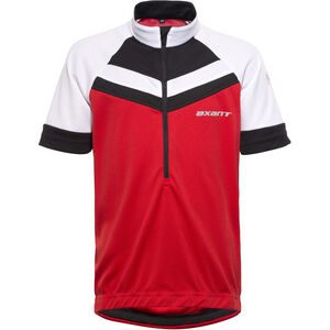 axant Elite Bike Jersey Kids Kinder red/black red/black