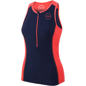 Zone3 Aquaflo Plus Top Damen navy/coral navy/coral