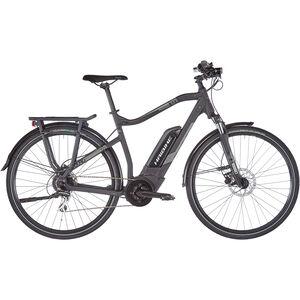 HAIBIKE SDURO Trekking 1.0 Herren schwarz/titan/grau matt bei fahrrad.de Online