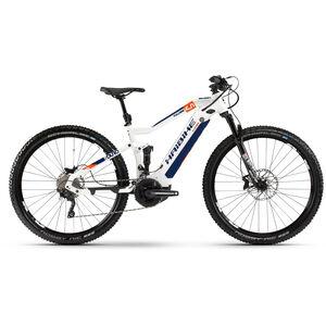 HAIBIKE SDURO FullNine 5.0 white/orange/blue white/orange/blue