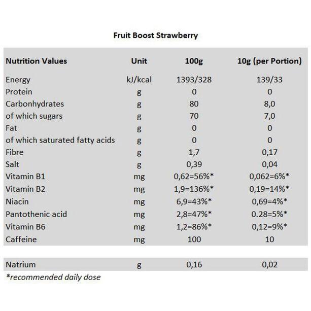 Isostar High Energy Fruit Boost Gelee 100g Strawberry
