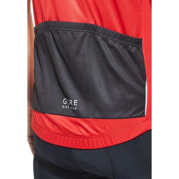 GORE BIKE WEAR Power Trail Jersey Herren red/black red/black