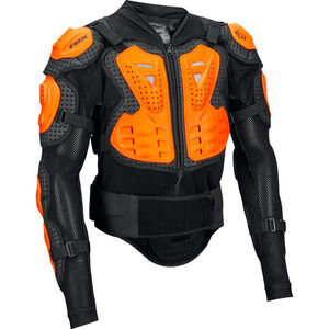 Fox Titan Sport Protector Jacket Herren black/orange black/orange