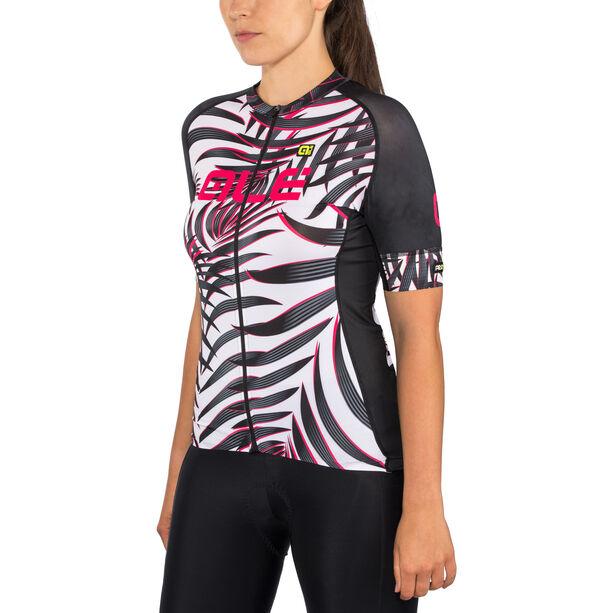 Alé Cycling Graphics PRR Sunset SS Jersey Damen white-black