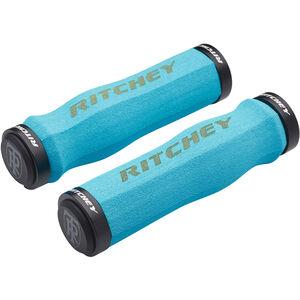 Ritchey WCS Ergo True Grip Griffe Lock-On blue blue