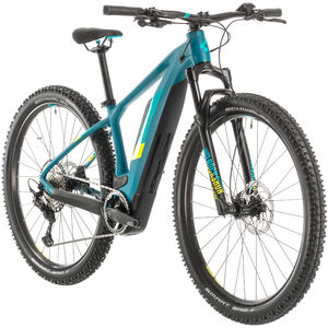 Cube Access Hybrid Race 500 Damen pinetree/lime pinetree/lime