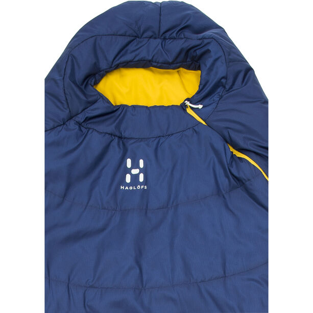 Haglöfs Tarius +6 Sleeping Bag 205cm hurricane blue