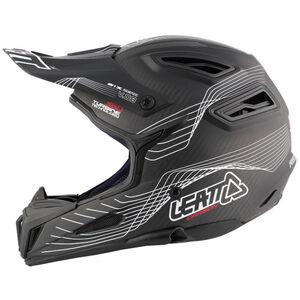 Leatt DBX 6.0 Carbon Helmet black/white black/white