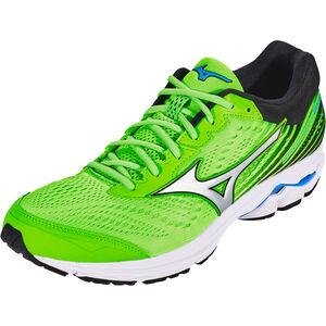 Mizuno Wave Rider 22 Shoes Herren green gecko/silver/brilliant blue green gecko/silver/brilliant blue
