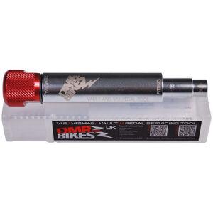 DMR Vault V12 Pedal Werkzeug silber/rot silber/rot