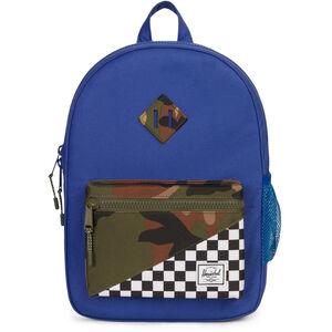 Herschel Heritage Backpack Youth Deep Ultramarine/Checker/Woodland Camo